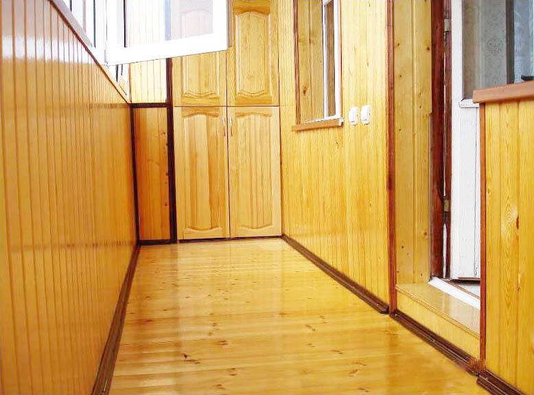 Обшивка балкона вагонкой деревянной: пошаговая видео-инструк.