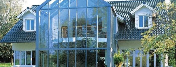 Остекление коттеджей / загородных домов. Пластиковыми окнами